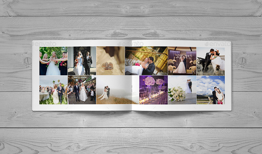 30 Page Wedding Book Template