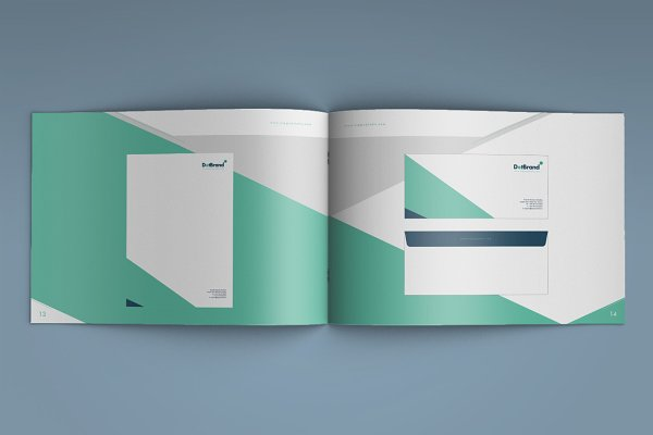 Creative Rich-Brand Book Template | Creative Brochure Templates