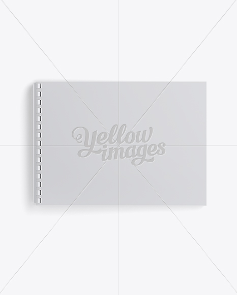 Notebook With Ring Binger Mockup