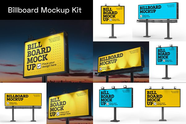 Advertising Mockup Bundle | Creative Print Mockups