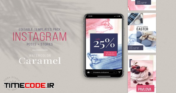 Instagram Stories And Posts Template | Creative Photoshop Templates
