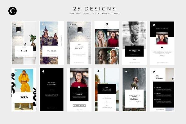 Carmen - A Social Media Package   Creative Canva Templates