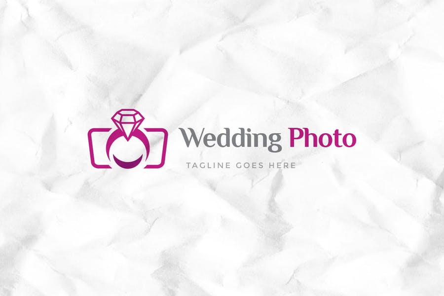 Wedding Photo Logo Template