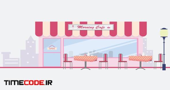 Cafe - Illustration Background