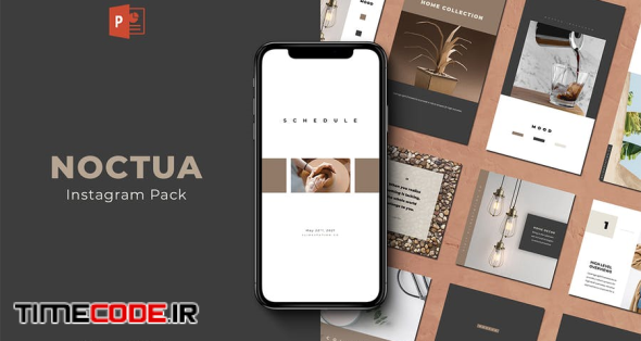 Noctua PowerPoint Instagram Pack