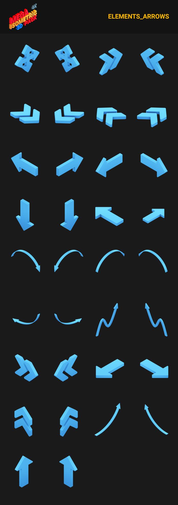 Isometric Mega Pack