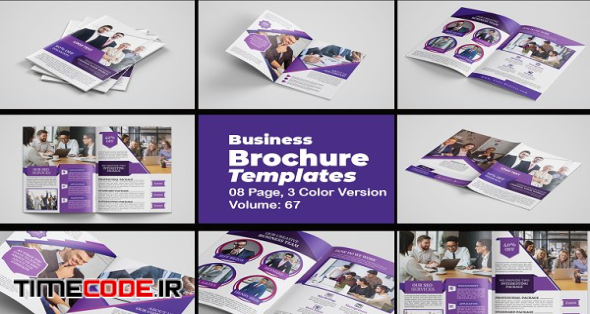 Corporate Business Brochure Template | Creative Illustrator Templates