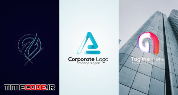 Sketch Minimal 3D Logo
