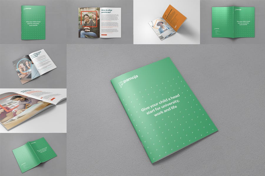 A4 Brochure And Magazine Mockups