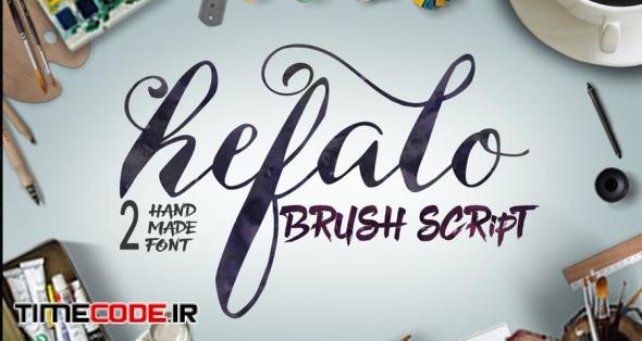 Hefalo Brush Script