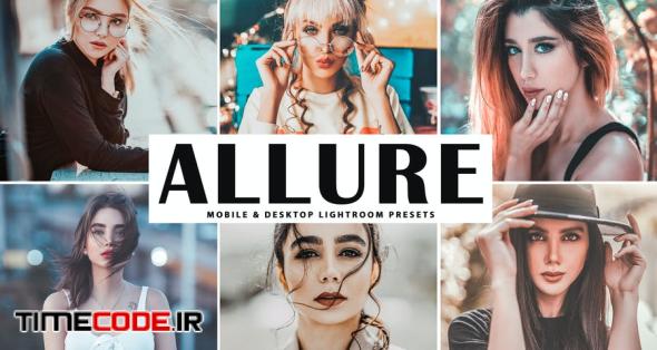 Allure Mobile & Desktop Lightroom Presets