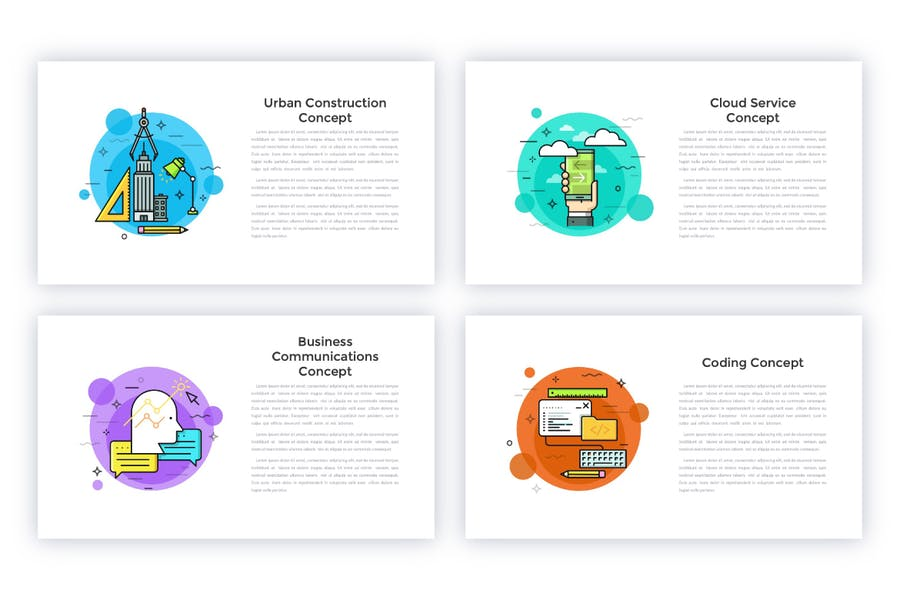 40 Animated Conceptual Slides For Powerpoint P.2