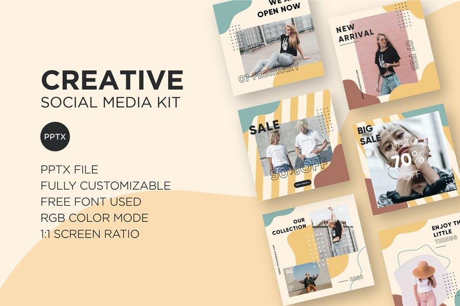 Creative Social Media Kit