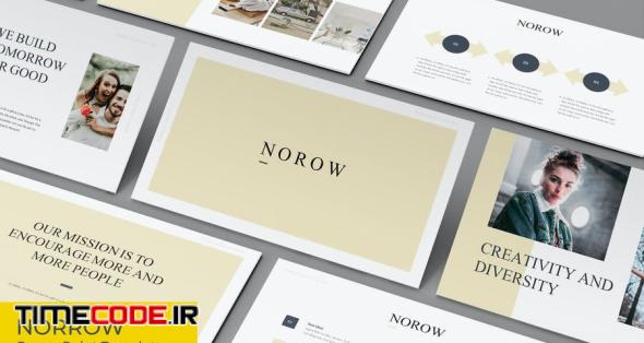 Norrow - Presentation Template