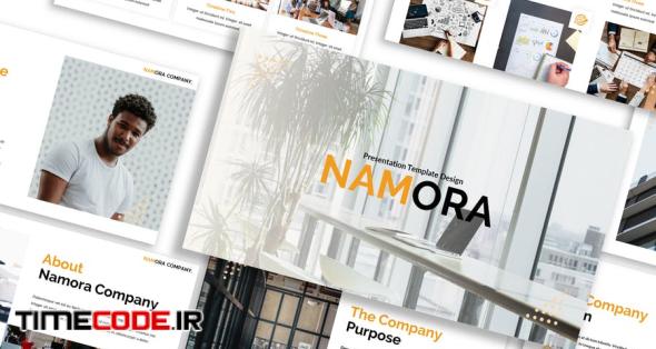 Namora - Business Google Slide Template