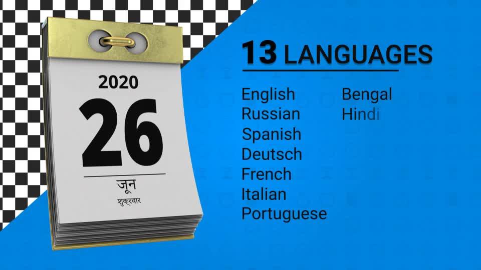Universal Calendar