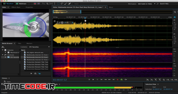 Sound Design for Motion Graphics