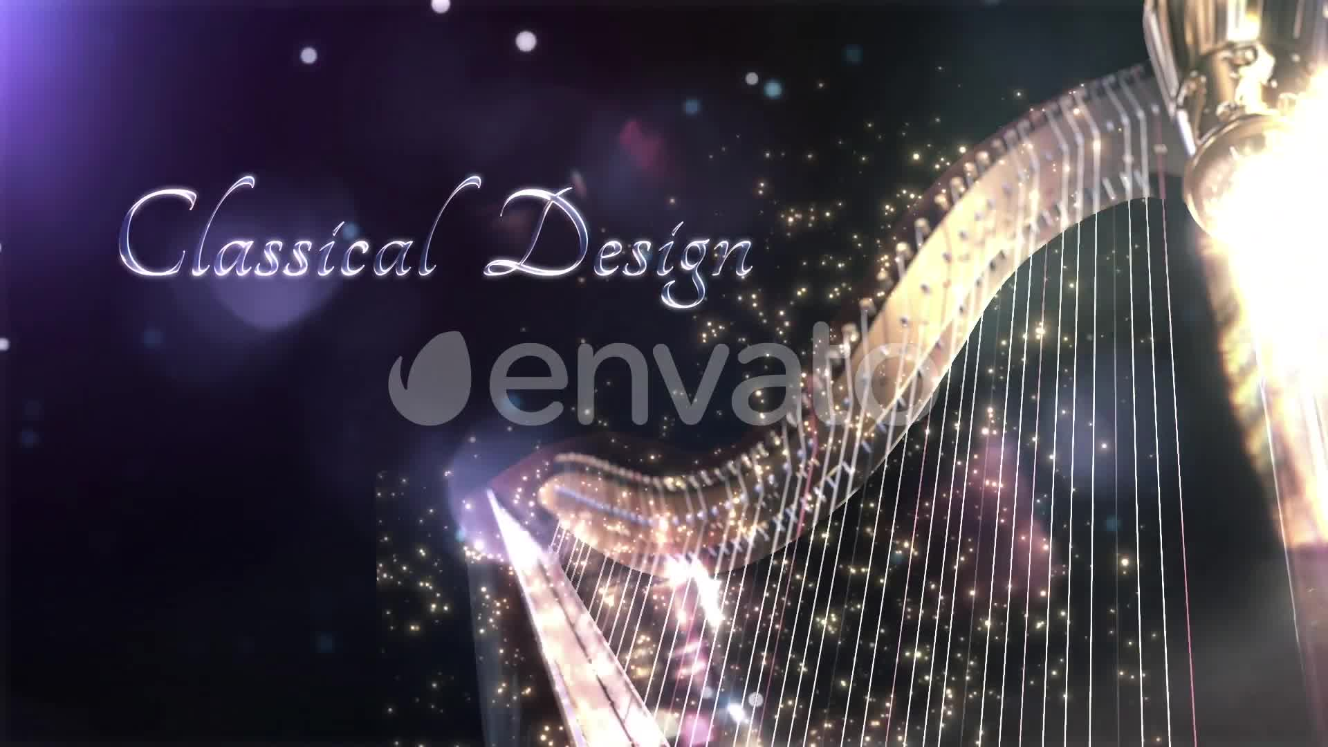 Harp - Classical Instrument Title