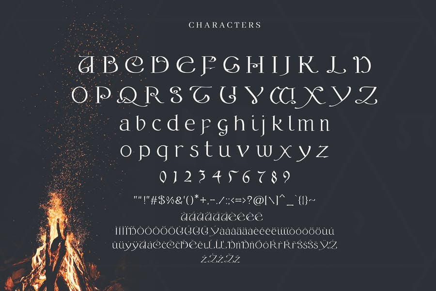Alchemy - A Magical Typeface